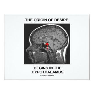 El origen del deseo comienza en el hipotálamo