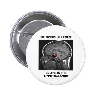 El origen del deseo comienza en el hipotálamo pin redondo 5 cm