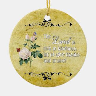 El ornamento de encargo II de señor Is Rich In Kin Adorno Para Reyes