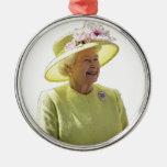 El ornamento de la reina adorno de navidad