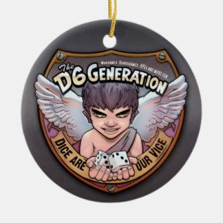 El ornamento del árbol de la generación D6 Ornamento Para Reyes Magos