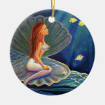 El ornamento del arte de la sirena de la cubierta adorno