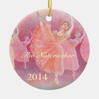 El ornamento del ballet del cascanueces - adornos de navidad