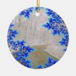 El ornamento del hogar del camino ornamentos de navidad