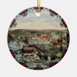 El ornamento del punto 1931 de Pittsburgh Ornamentos De Reyes Magos