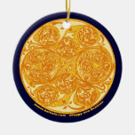 El ornamento espiral céltico de la mandala del art ornamente de reyes