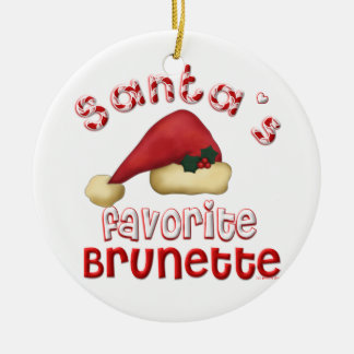 El ornamento trigueno preferido de Santa Adornos De Navidad