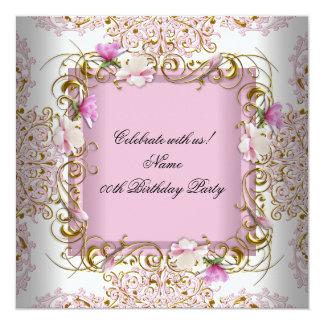 El oro blanco rosado del damasco florece a la anuncio personalizado