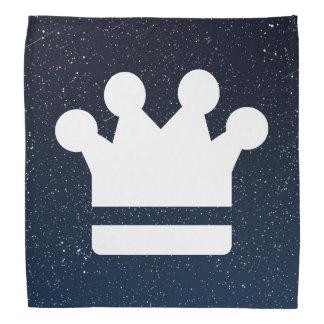 El oro corona el icono bandanas