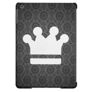 El oro corona el icono funda para iPad air