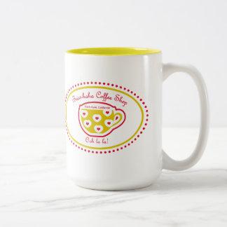 El oro de los Taza-Tontos de la cafetería de Brew-