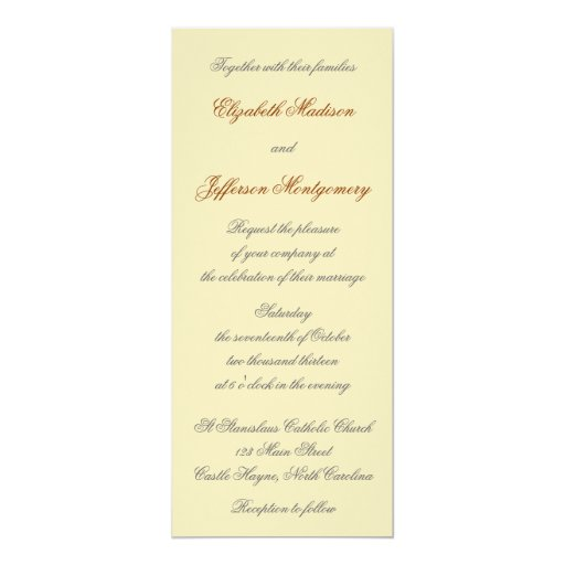 El oro de William Morris sale de la invitación del