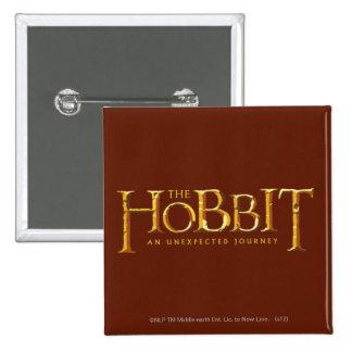 El oro del logotipo de Hobbit Pin