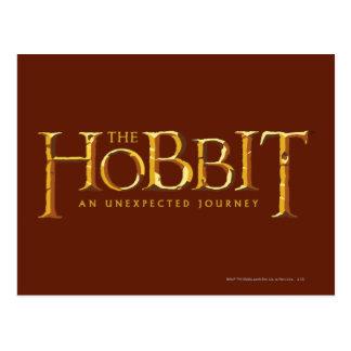El oro del logotipo de Hobbit Postales