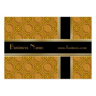 El oro del negro del negocio de la tarjeta del per tarjeta personal