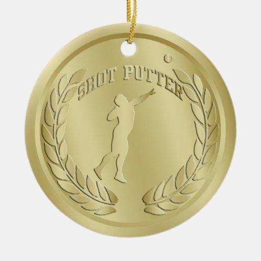 El oro del Putter de tiro entonó el ornamento de l Adorno