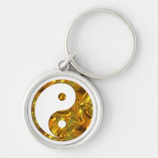 El ORO el | de Yin y de Yang hace su propio fondo Llavero