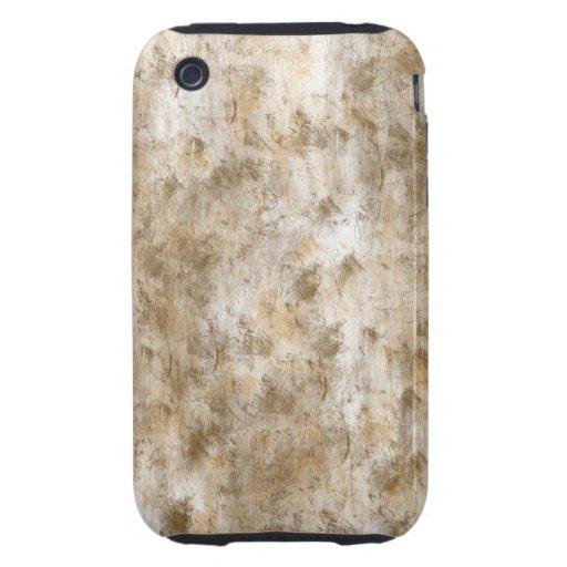El oro entona el extracto tough iPhone 3 cobertura