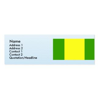 El Oro, Equador Business Card Templates