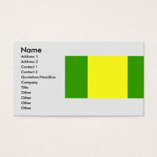 El Oro, Equador Business Card