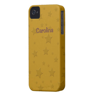 El oro fresco 3D protagoniza la piel conocida de Case-Mate iPhone 4 Carcasas