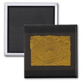 El oro graba en relieve la mirada subió imanes