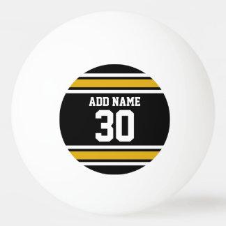 El oro negro se divierte el jersey con su nombre y pelota de ping pong