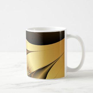 El oro sale de fractales taza clásica