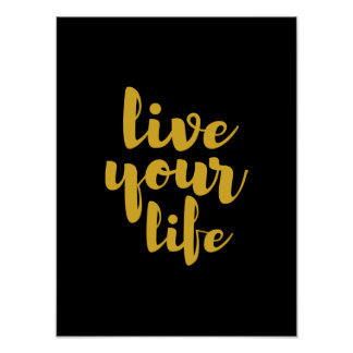 El oro vive su arte de la cita de la vida