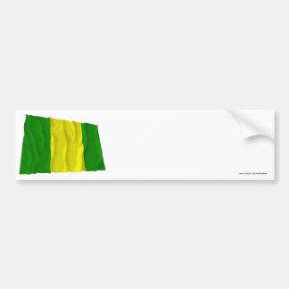 El Oro waving flag Bumper Sticker