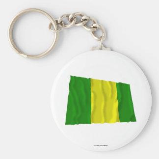 El Oro waving flag Basic Round Button Keychain