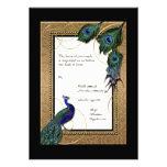 El oro y el boda elegante formal barroco del cordó anuncio
