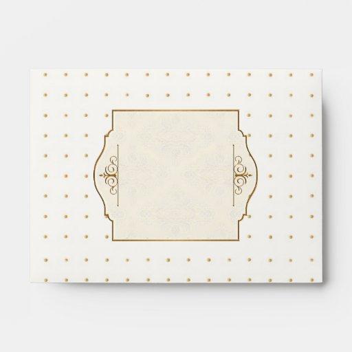 El oro y el boda elegante formal clásico del cordó