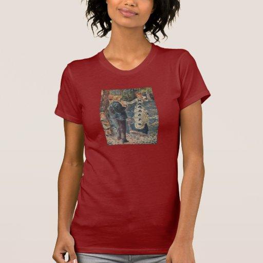 El oscilación de Pierre-Auguste Renoir (1876) Camiseta