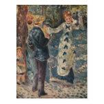 El oscilación de Pierre-Auguste Renoir (1876) Tarjetas Postales