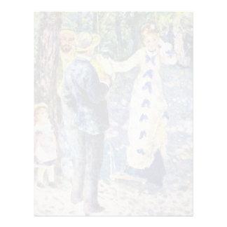 El oscilación de Pierre-Auguste Renoir (la mejor Membretes Personalizados
