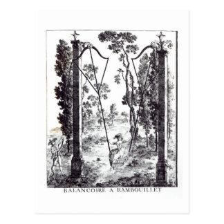 El oscilación del jardín en Rambouillet, del 'DES Postal