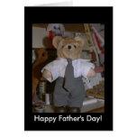 El oso adecuado lindo felicitaciones
