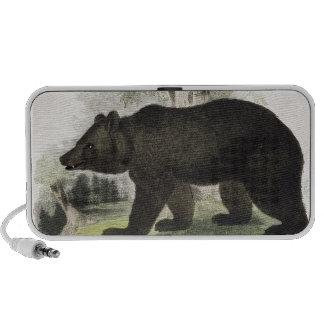 El oso de Brown, pub educativo del ejemplo. por t iPhone Altavoz