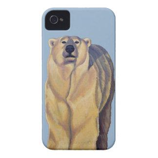 El oso de la caja de Blackberry del arte del oso p iPhone 4 Case-Mate Carcasa