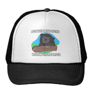 ¿El oso de la confesión dice lo que? Gorros Bordados