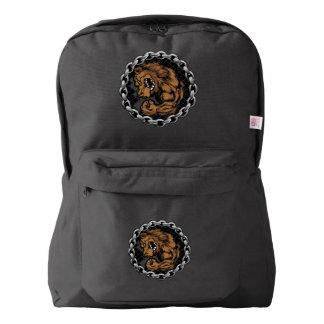 El oso de la lucha mochila
