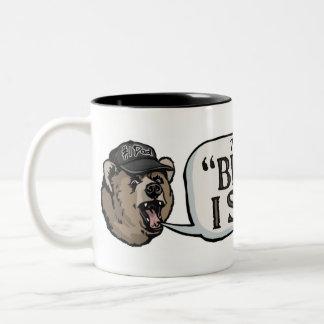 El oso de la papá va porque dije tan el engranaje taza