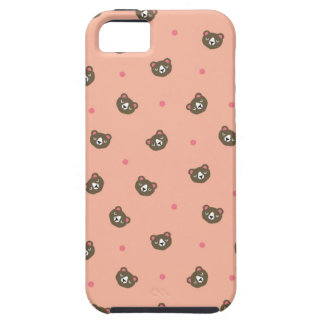 """El """"oso de miel hace frente"""" al caso del ambiente iPhone 5 Case-Mate fundas"""