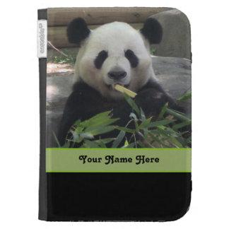 El oso de panda personalizado enciende la caja