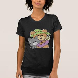 el oso de peluche de la bruja de Halloween y del g Camiseta