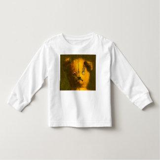 El oso de peluche del zombi embroma la blusa con playeras