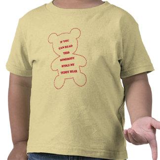 El oso de peluche divertido embroma la camiseta