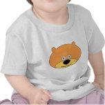 El oso de peluche lindo embroma la ropa camisetas