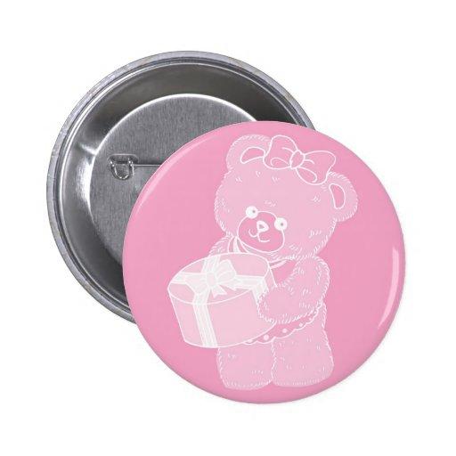 El oso de peluche, situación, palidece - el rosa p pin